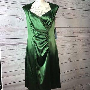 London Times wedding Bridal Dress Satin look 12